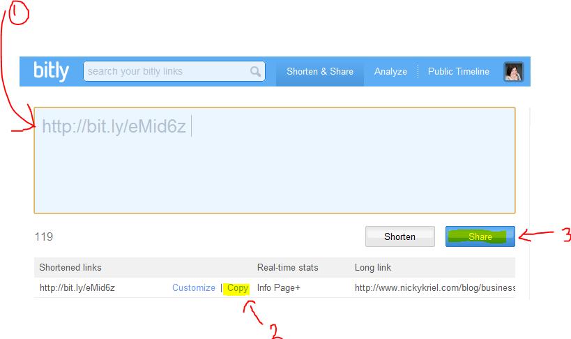 How to shorten your links on Twitter - Nicky Kriel | Social