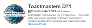 Toastmasters International UK & Ireland