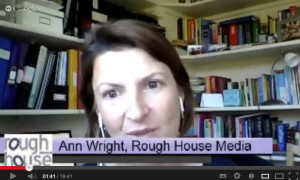 Ann Wright talks about Crisis Communication and Social Media