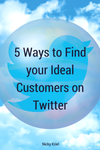 5 ways to find your ideal customers on Twittter