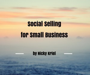 Social Selling for Small Business by Nicky Kriel