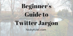Beginners Guide to Twitter Jargon by Nicky Kriel