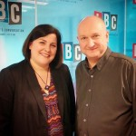 Nicky Kriel with Clive Bull on LBC Radio