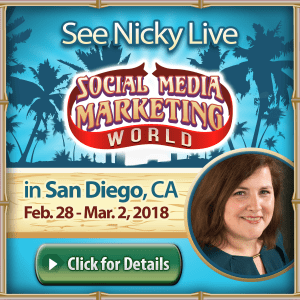 SMMW18 Nicky Kriel Social Media Marketing World